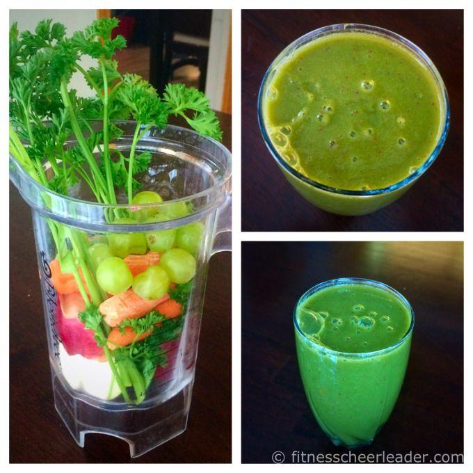 Green whole juice recipe