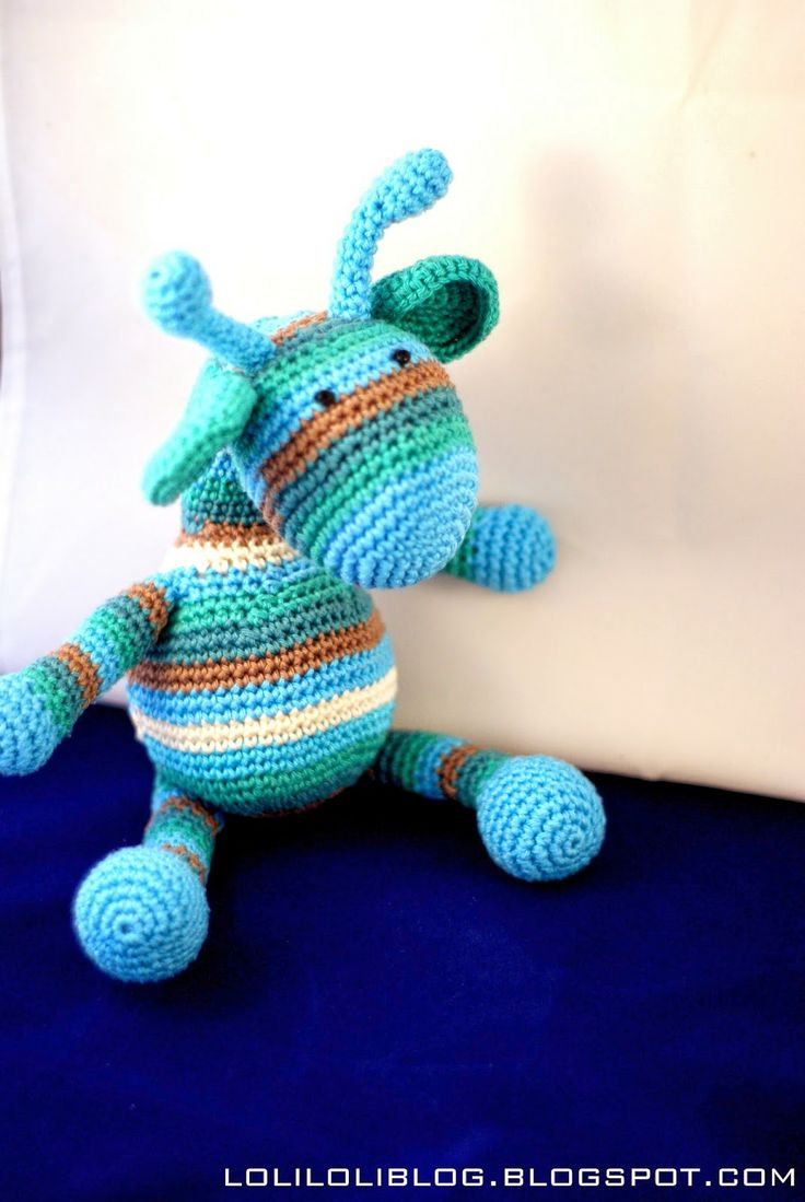 Crochet Giraffe:)