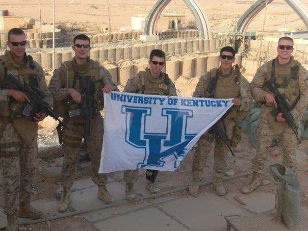 Kentucky Wildcats fans are everywhere.