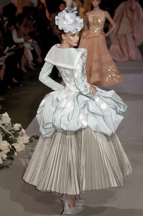 Christian Dior Haute Couture Fall 2007.