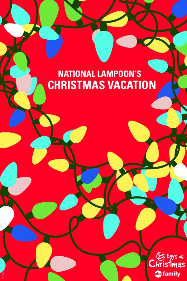 Are tangled Christmas lights making you frown? Let us cheer you up this Christmas season with National Lampoon's Christmas Vacation airing during ABC Family's 25 Days of Christmas! Click to see the full 2014 25 Days of Christmas schedule!