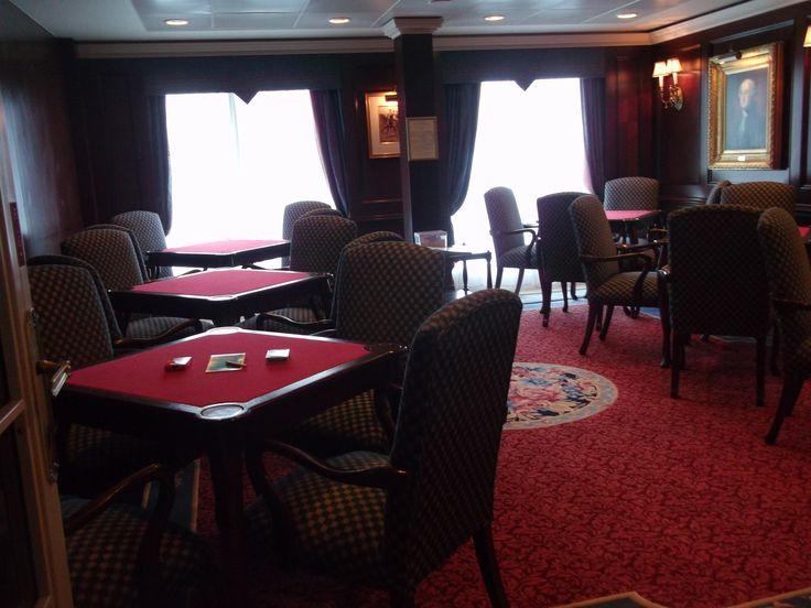 Oceania Cruises - Nautica, The Card Room