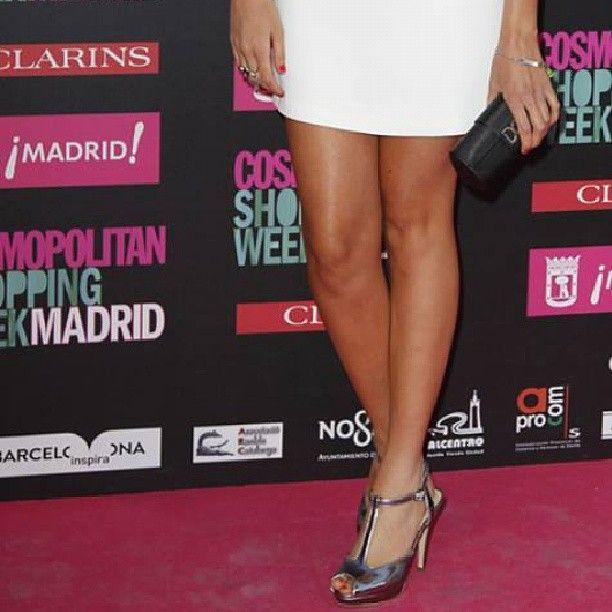 Look 3 de Junio de Lucía Ramos con sandalias de MTNG - MUSTANG SS13