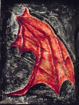 Glaufx Garland's Exquisite Art - ΓΛΑΥΚΩΨ - Σ. Β. ΚΟΥΚΟΥΛΟΜΑΤΗΣ: BAT CAVE -Glaufx Garland 2015 -RELIEF Mixed Media