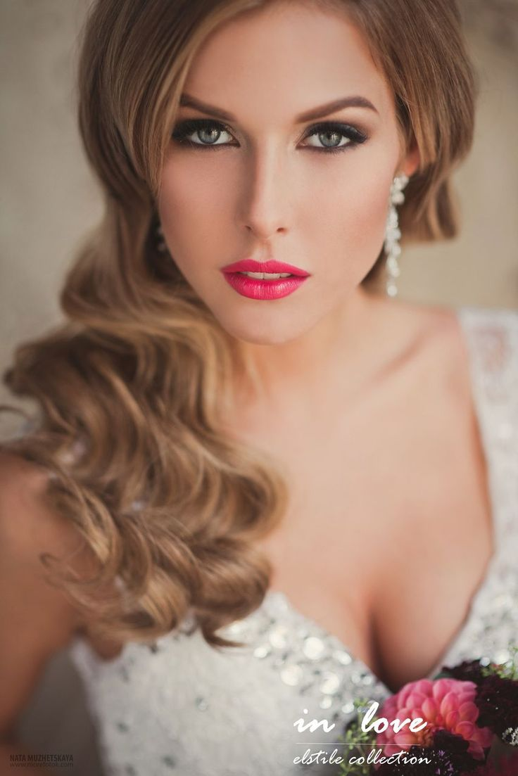 30 gorgeous wedding makeup looks mon cheri bridals - Wedding Makeup Belle The Magazine