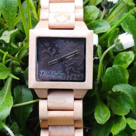 dřevěné hodinky Sirius od TimeWood