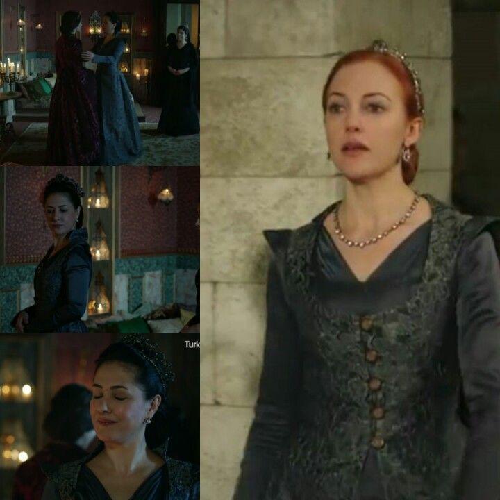 Magnificent Hertitage- Dark blue dress and yelek