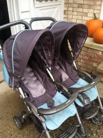 $40 used combi double stroller craigslist 216-624-6439 | DOUBLE ...