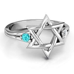 Classic Star of David Ring #jewlr