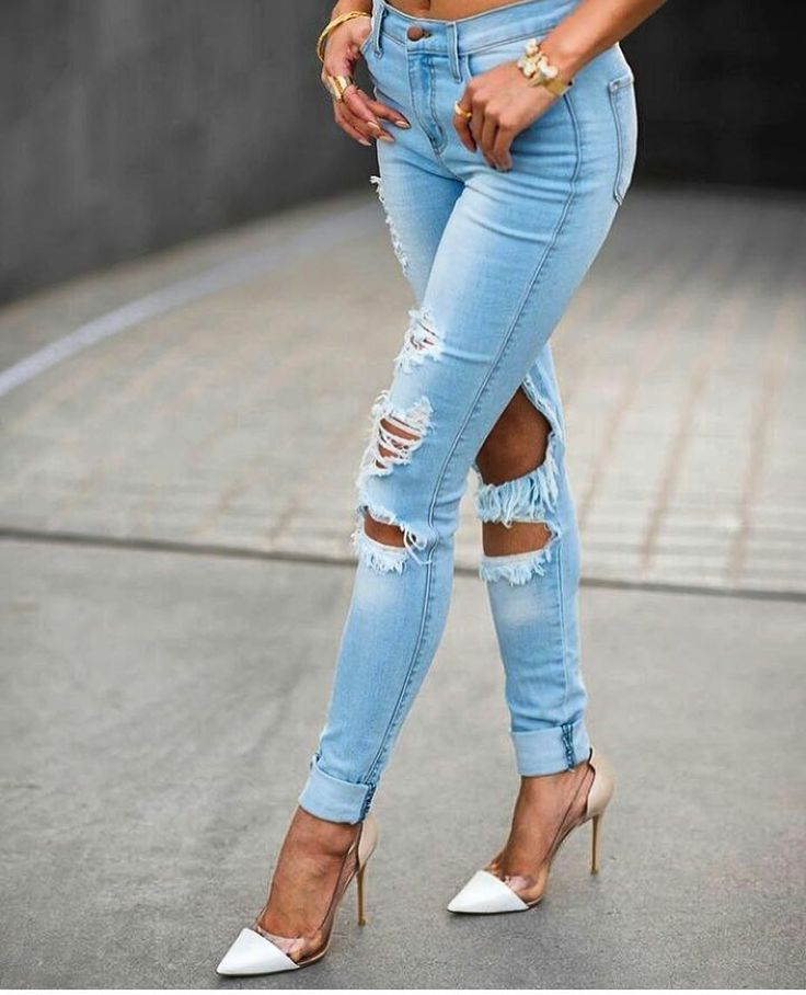 Women's Ripped jeans.....Sexy jeans