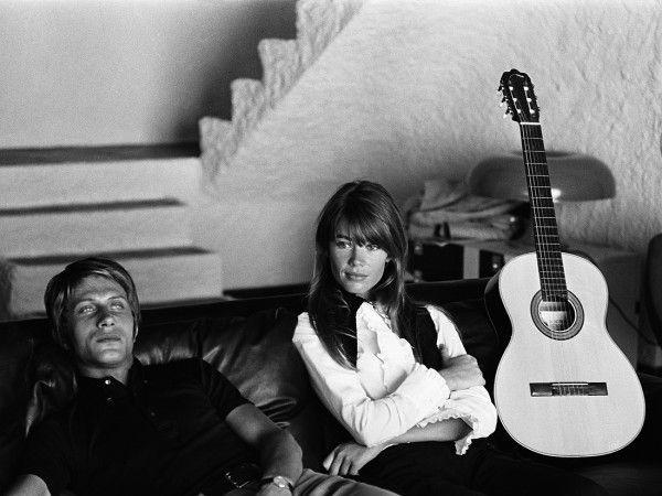 Francoise Hardy et Jacques Dutronc