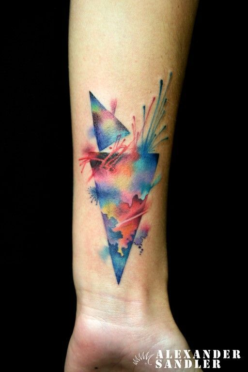 2017 trend Watercolor tattoo - abstract watercolor tattoo - Google Search...