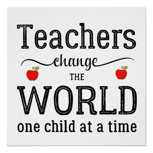 Teachers Inspirational Script Quote And Red Apples Poster Zazzle Com Teacher Appreciation Quotes Motivational Quotes For Teachers Teacher Quotes Inspirational