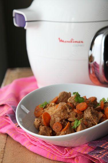 Curry de porc au Cookéo Moulinex