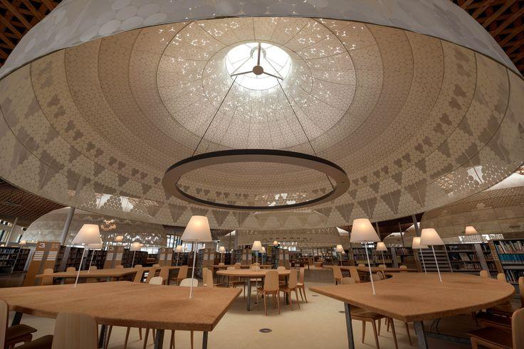 Bibliothèque Minna No Mori de Gifu de Toyo Ito au Japon - Light ZOOM Lumière