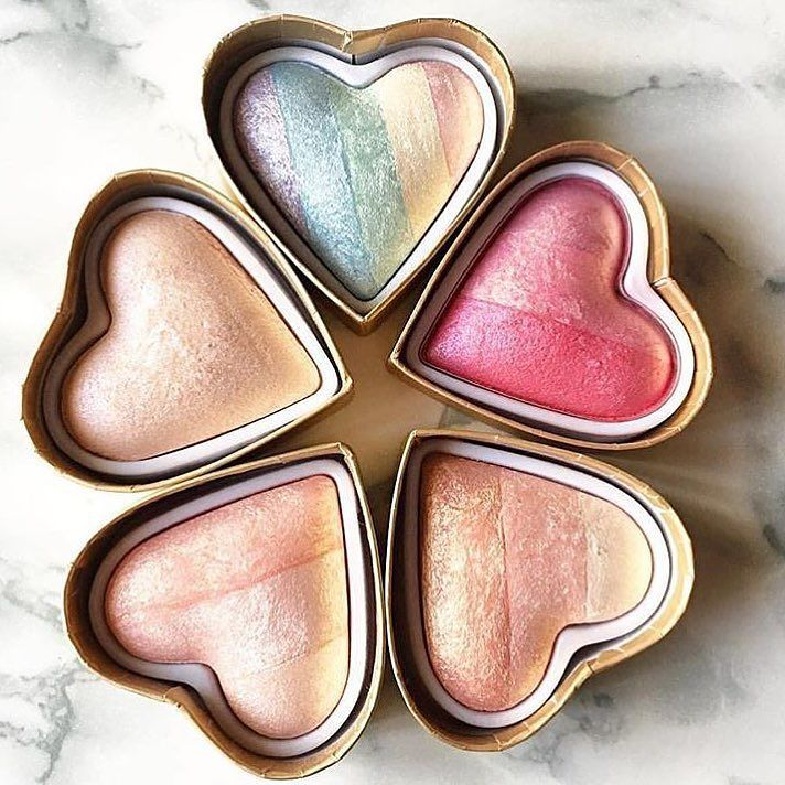 I Make Up!  Our new blushes and highlighters...! #iheartmakeup #makeup #love #a4b #a4bgr #eshop #beauty #blush #highlighter