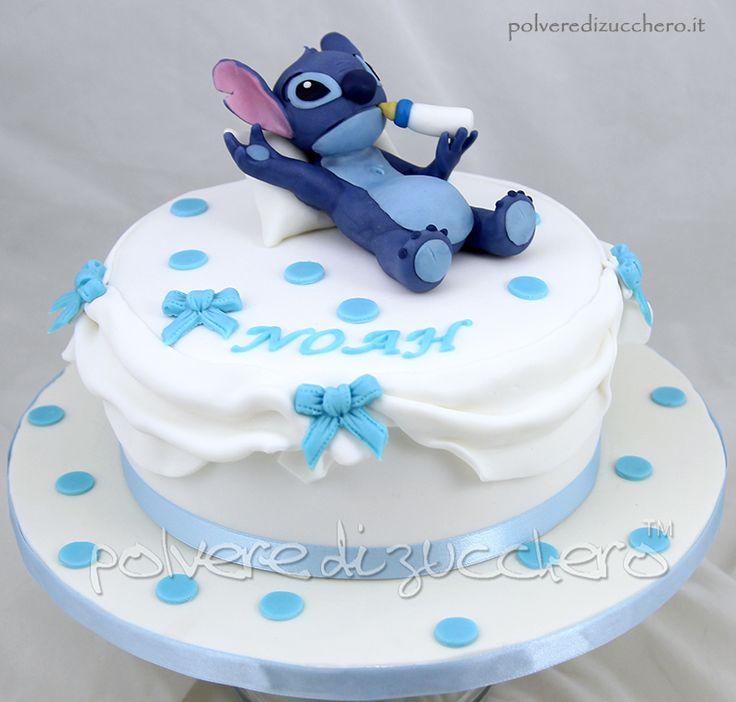 Stitch Cake tratto dal cartone Lilo & Stitch Disney
