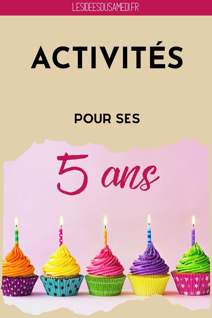 Plus de dix activités testées pour un anniversaire de fille de 5 ans en 2020 | Activite ...