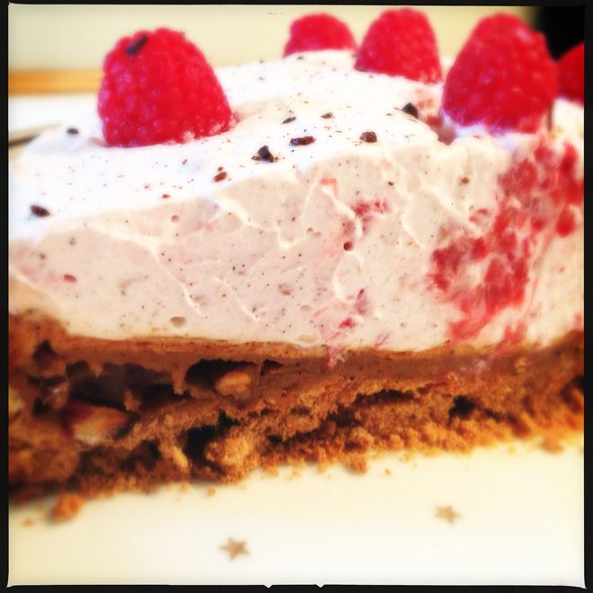 Opskrift på verdens bedste fødselsdagskage, med kun 157 kalorier pr. 100g