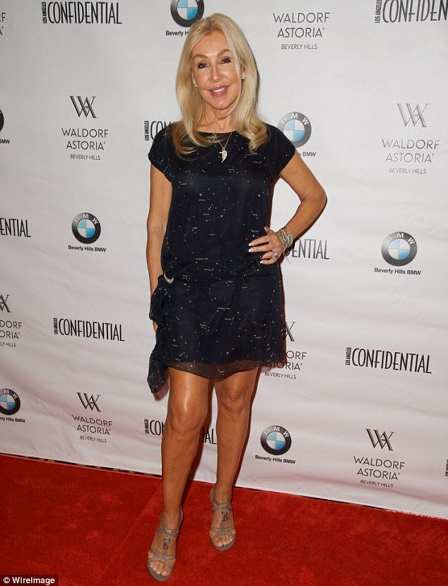 VIPs: Actress Linda Thompson also attended the event