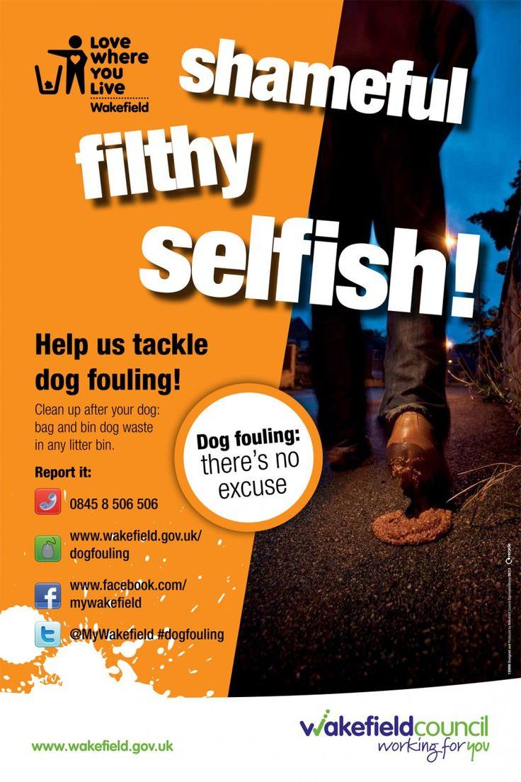 Shameful, filthy, selfish 2 - Wakefield Council