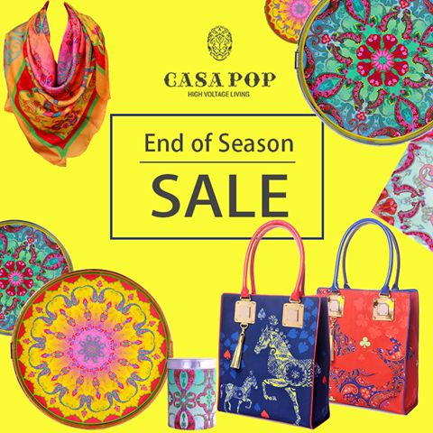 #SneakPeek #SalePreview #CasaPOP Ambience Mall,Vasant Kunj & Santushti Shopping Complex The opulence of heritage is conveyed in a charade of cards with Pop flamboyance Pagentry of the peacocks to the ostentatiousness of the pompous elephant Each gallant tradition gets a voice with lustrous hues in a dramatic echo!