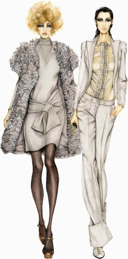 Ilustraciones de moda muy inspiradoras / Truly inspiring fashion illustrations Más