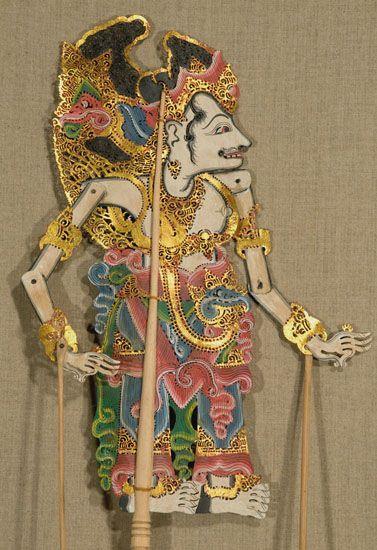 balinese shadow puppets | 4798. Wayang Kulit Shadow Puppet. Bali