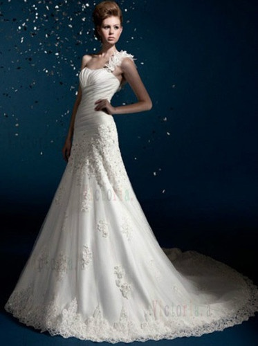 2012 new style white/ivory weding Dress