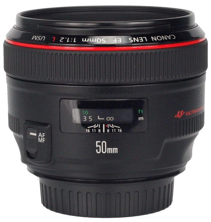 Объектив Canon EF 50 mm F/1.2L USM ―  Fotofishka.ru - интернет магазин фототехники
