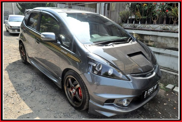 Modifikasi Honda Jazz Abu abu Modif Mobil Pinterest