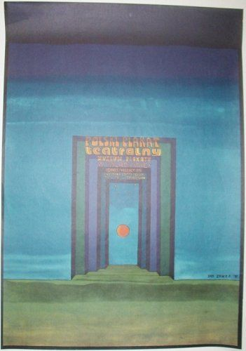 Polish Theater Posters Exhibit, 1975, by Jan Sawka