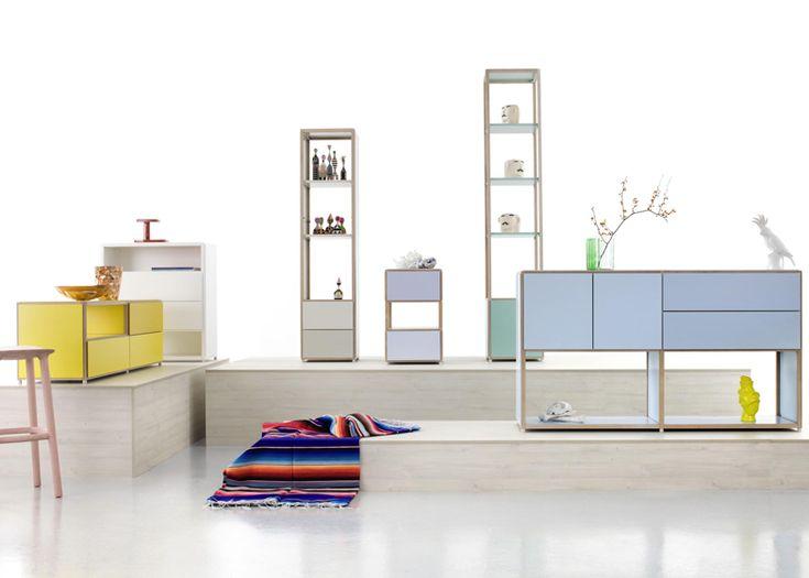 ADD System Furniture by Werner Aisslinger for Flötotto