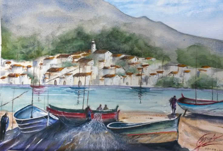 Acquerello - Cadaqués, Costa Brava