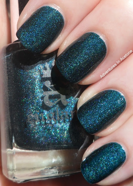 A-England St George! A bit too much glitter but great color