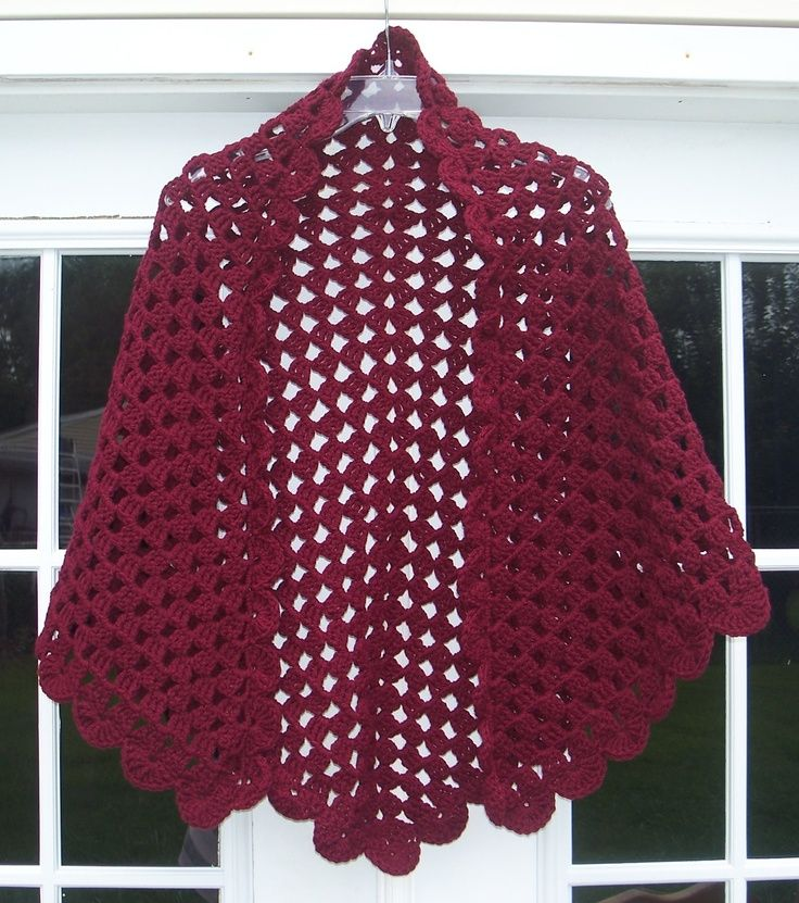 Free Prayer Shawl Crochet Patterns Easy : Free Easy Crochet Prayer Shawl Patterns images