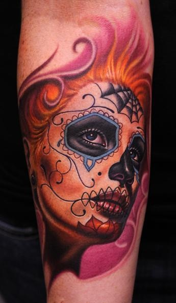 #Tattoo by Nikko Hurtado. He is an amazing tattoo artist. Would love