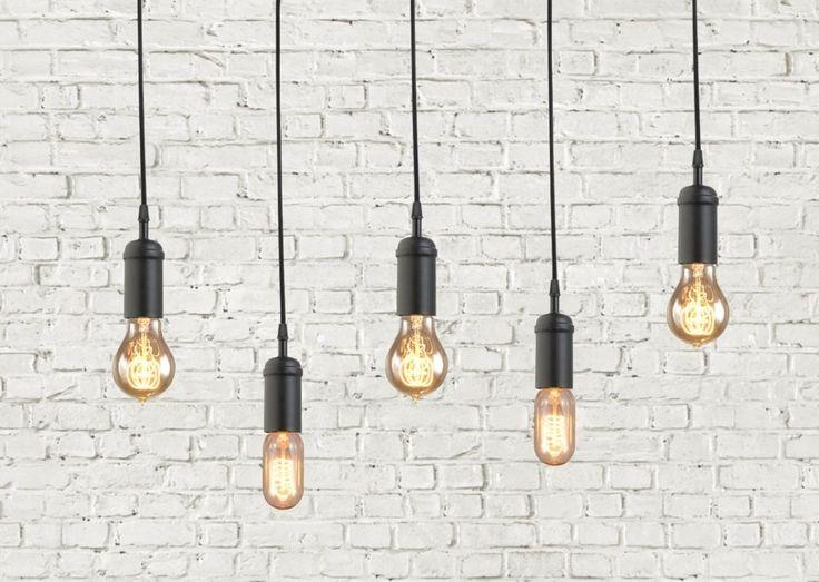 Vintage Industrial Hanging Light Fixtures