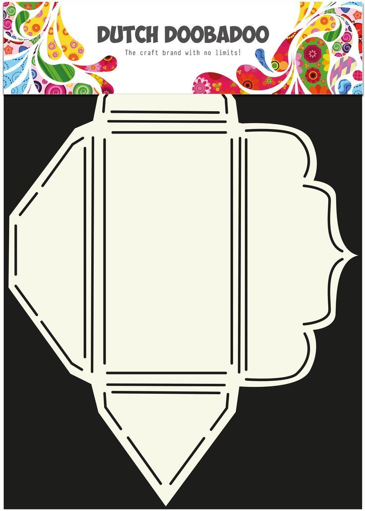 470.713.018 Envelope Art Scallop rechthoekig