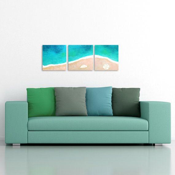 Tropical Sline No 6 Home And Office Art Set Of 3 By Njoyart 160 00