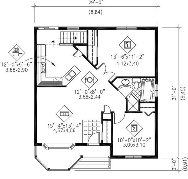 Floorplans On Pinterest House Plans Cabin And Cottage Floor Plans