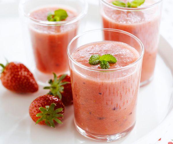 #Smoothie #fraise #pasteque