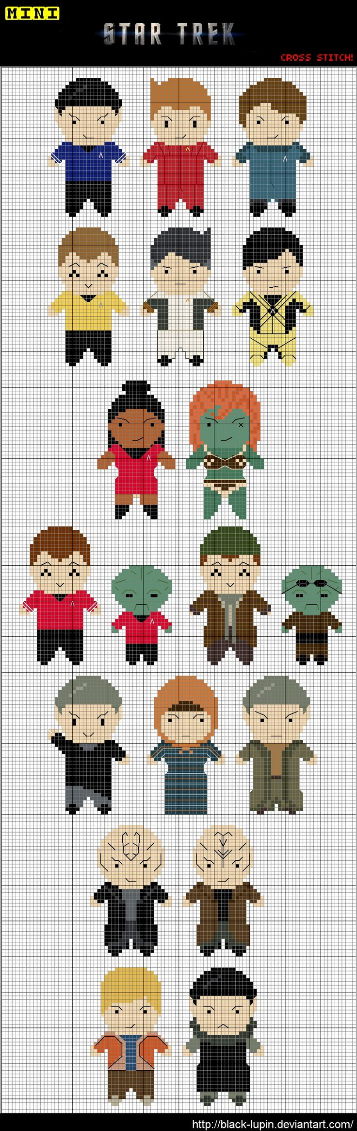 Star Trek - cross stitch
