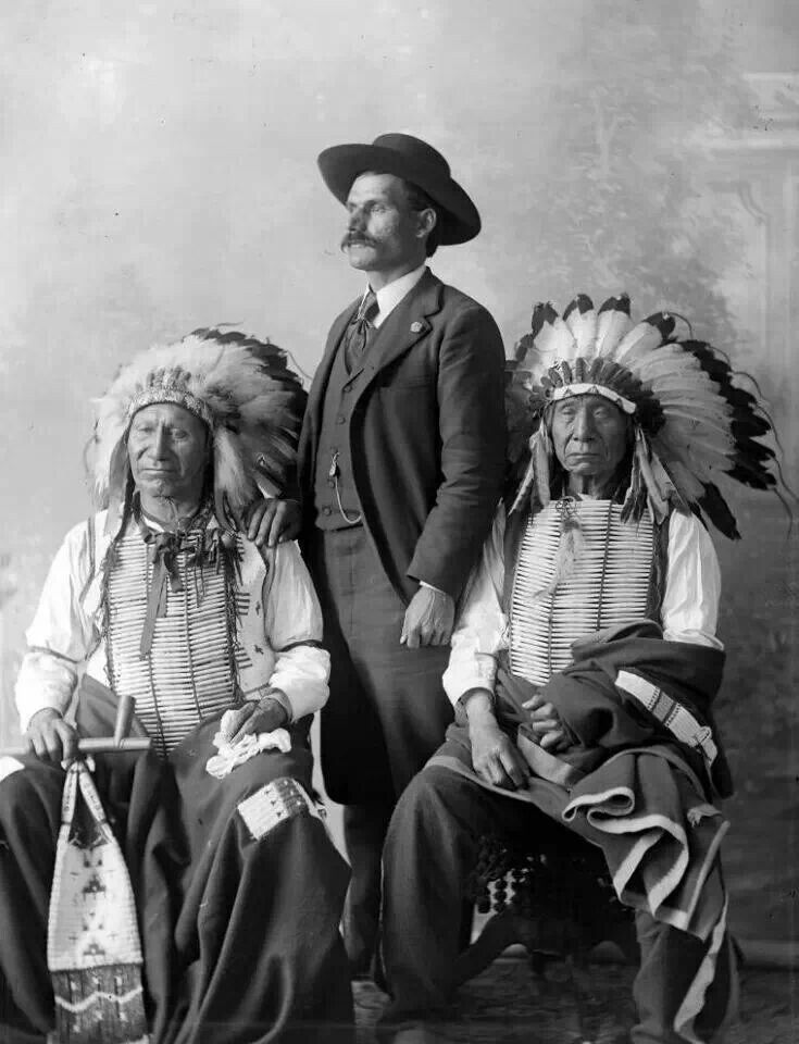 Oglala Sioux Chiefs American Horse and Mahpiya Red Cloud