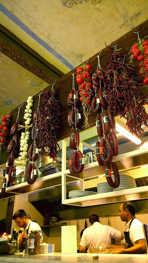 Recently opened charcuterie and fromagerie 'Ta Karamanlidika tou Fani' serves on spot many authentic Cappadocian recipes.
