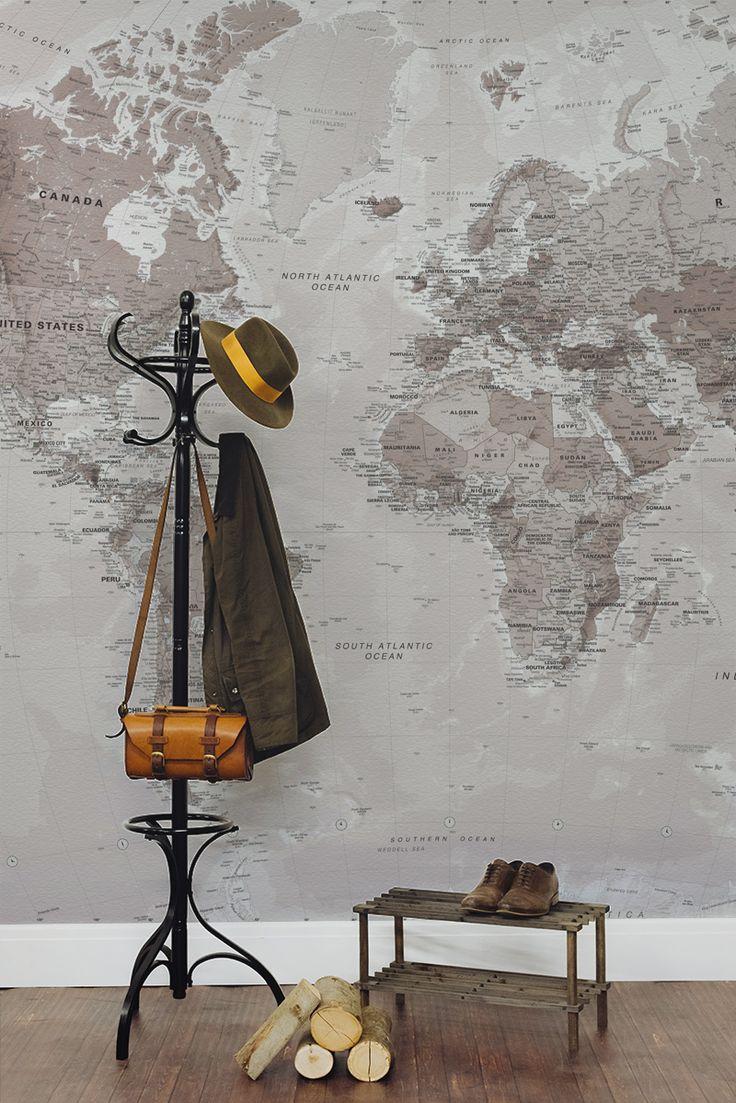 Best Map Wallpaper Ideas On Pinterest World Map Wallpaper - Us road map wallpaper