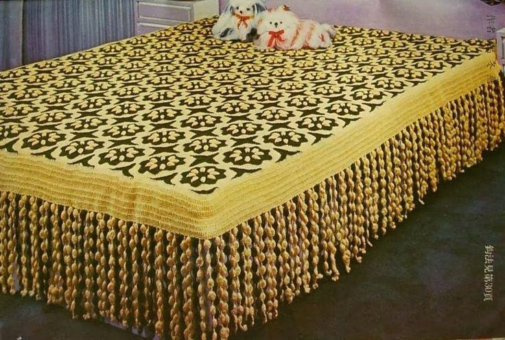 Crochet: BLANKET FLOWER MOTIFS