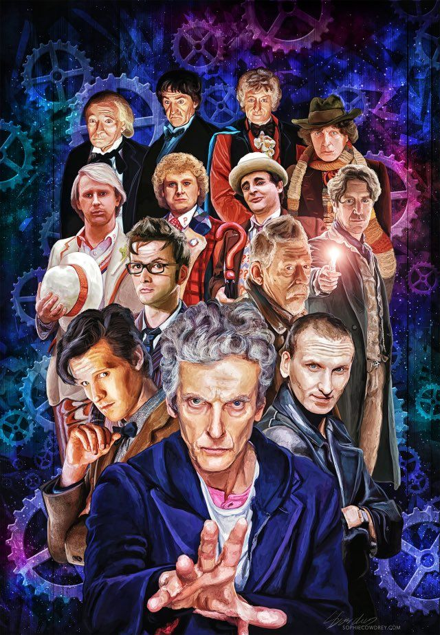 Happy 53rd birthday to the best television show in all of time and space! ⭐️  #DoctorWho