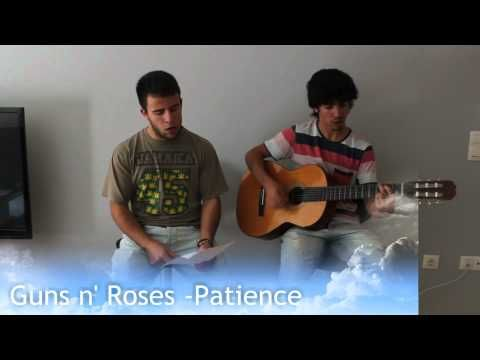 GunsNroses  Patience [Acoustic Cover]