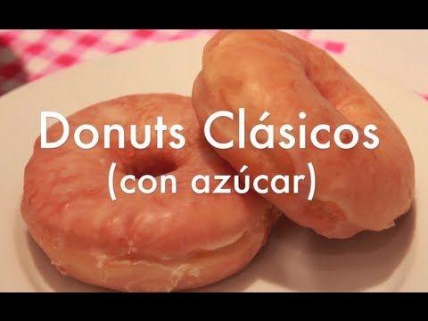 ▶ Cómo hacer Donuts de azúcar caseros - YouTube